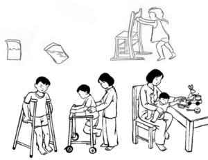 PHCN cho trẻ bại não